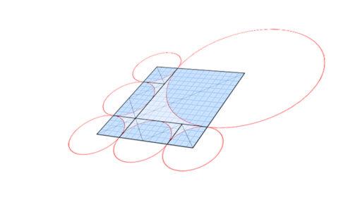 Origami and circles
