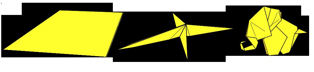 Abrashi Origami design process
