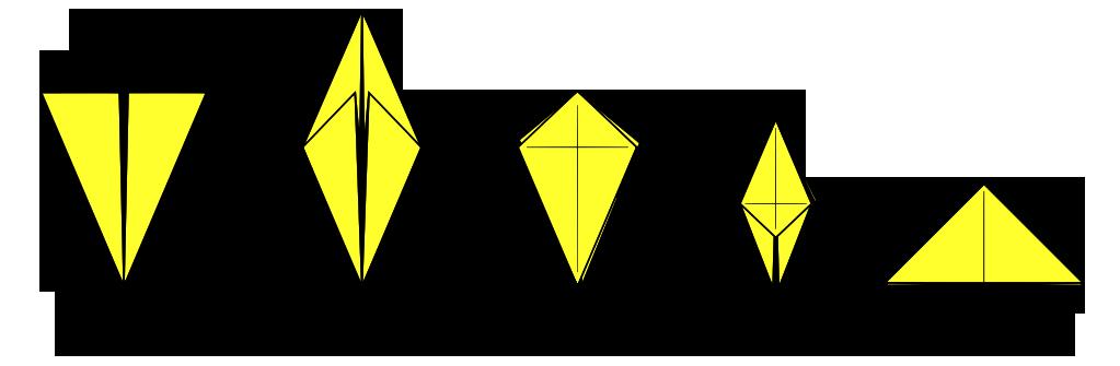 Abrashi origami bases