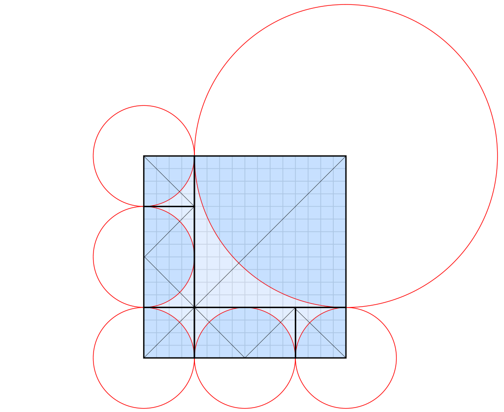 Abrashi Origami and Circles