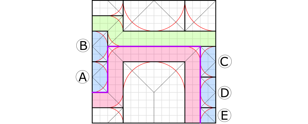 Abrashi Origami crease pattern