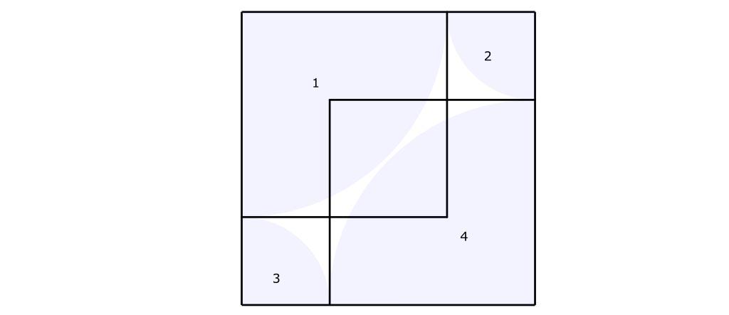 Polygon overlapping