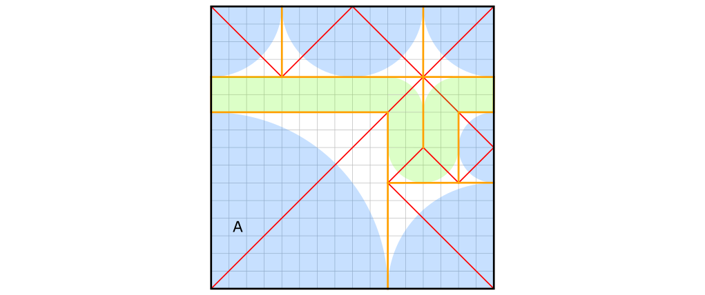 Crease pattern example