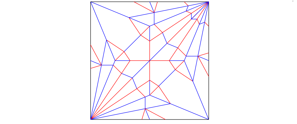 Proper crease pattern of a traditional origami paper crane (version 1)