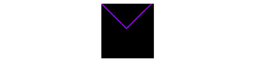 Interaction between ridge and axial crease (special case no. 1)