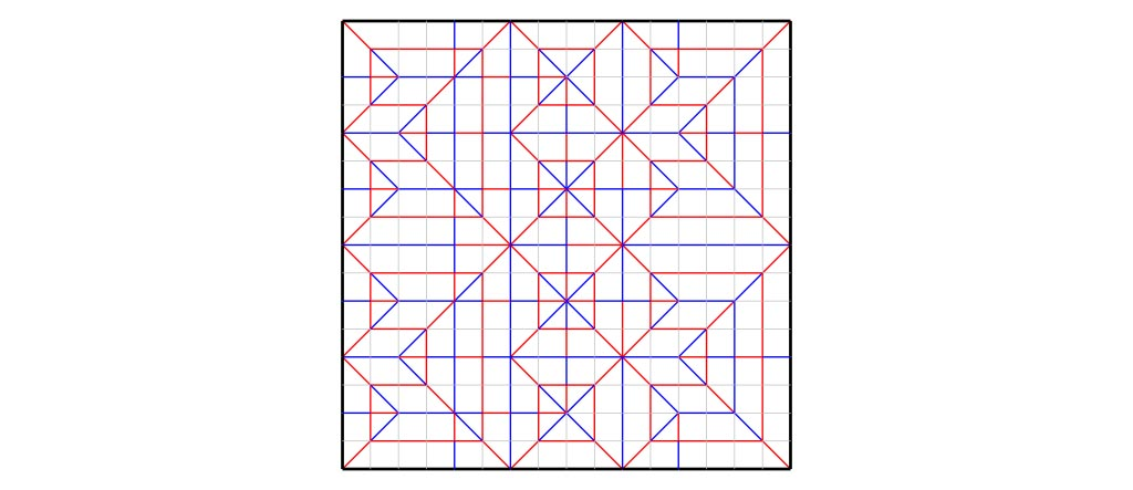 Crease pattern