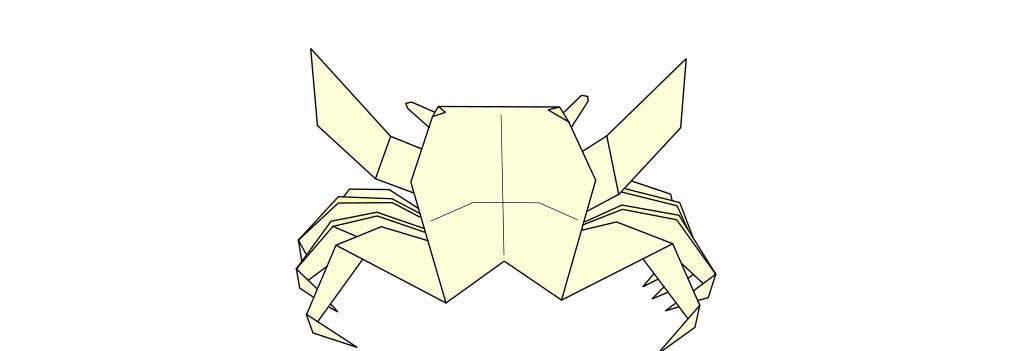 The crab by Yoshizawa
