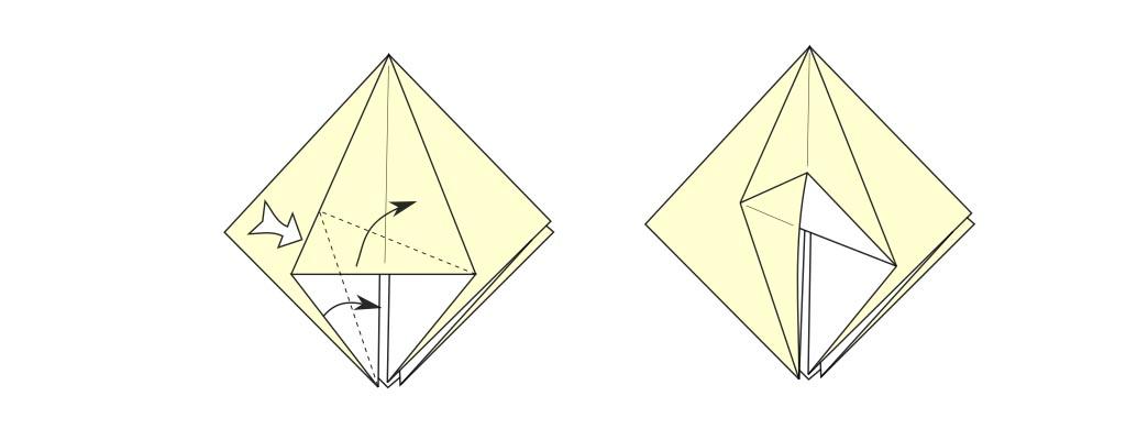 Open swivel fold