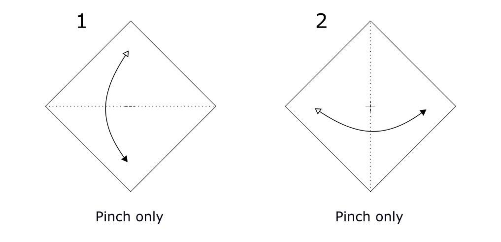Origami envelope diagram (S1)