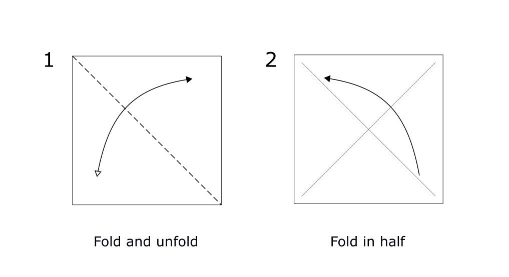 Origami Rabbit diagram (S1)