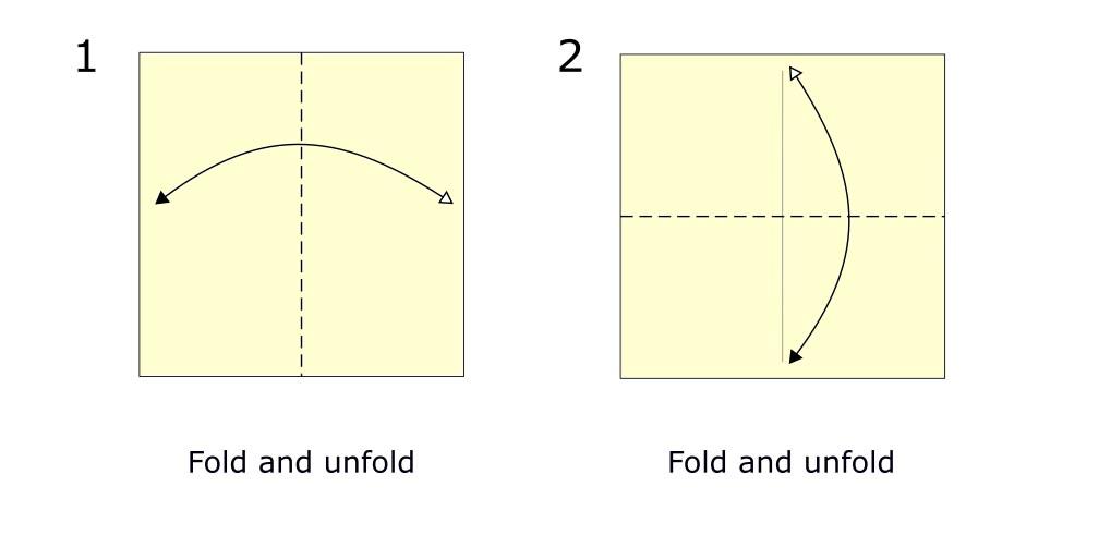 Traditional origami crane diagram (S1)