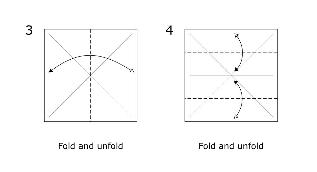 Origami Rabbit diagram (S2)