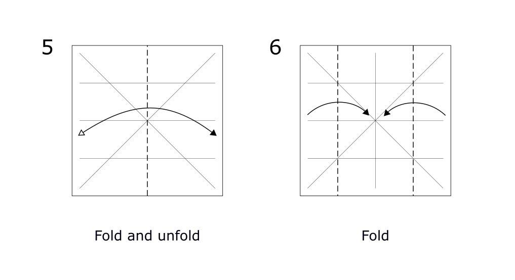 Origami Rabbit diagram (S3)