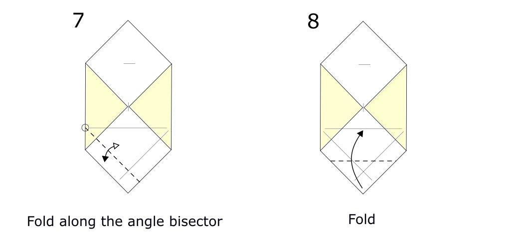 Origami envelope diagram (S4)