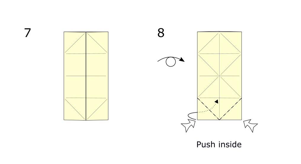 Origami Rabbit diagram (S4)