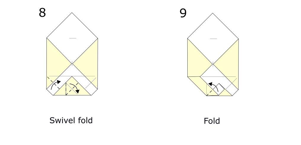 Origami envelope diagram (S5)