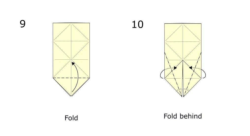 Origami Rabbit diagram (S5)