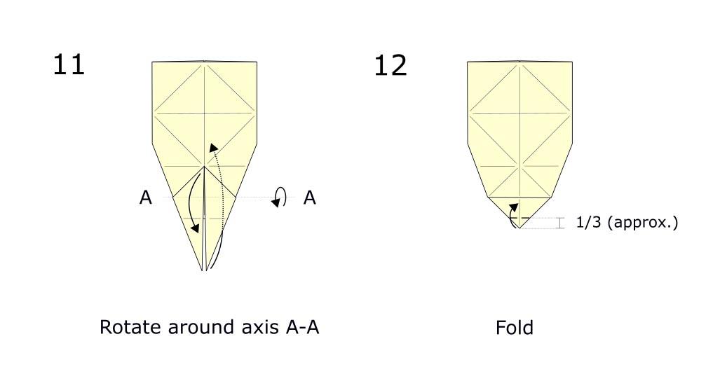 Origami Rabbit diagram (S6)