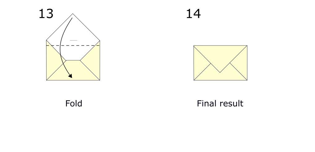 Origami envelope diagram (S7)