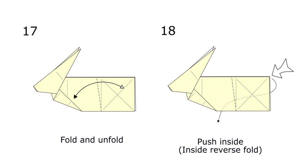 Origami Rabbit diagram (S9)