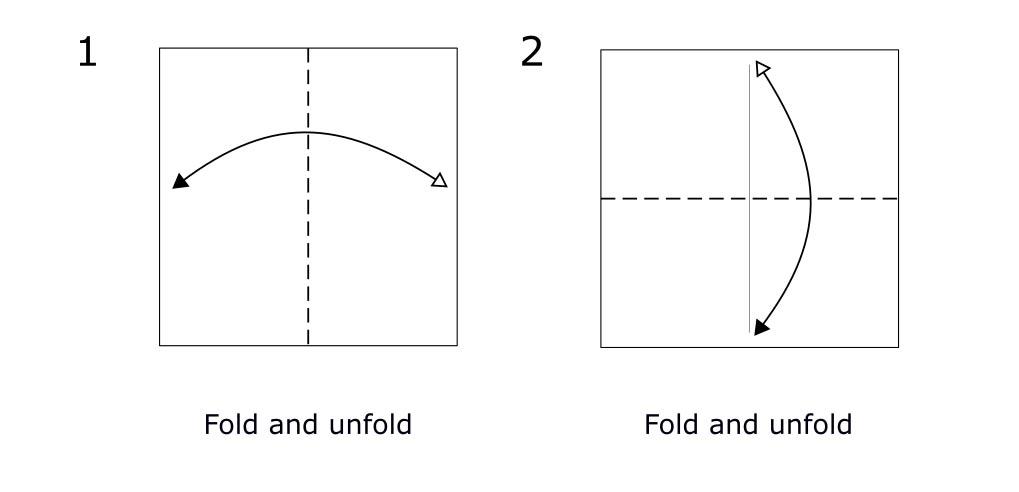 Origami Horse (diagram s1)