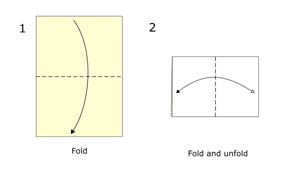 Simple origami boat (diagram S1)