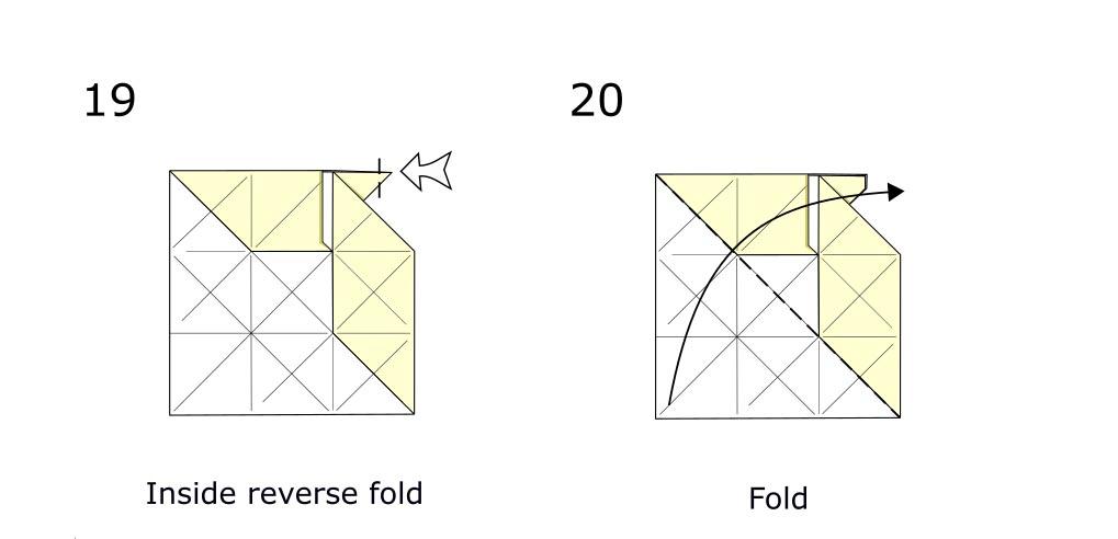 Origami Horse (diagram s10)