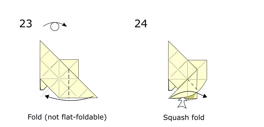 Origami Horse (diagram s11)