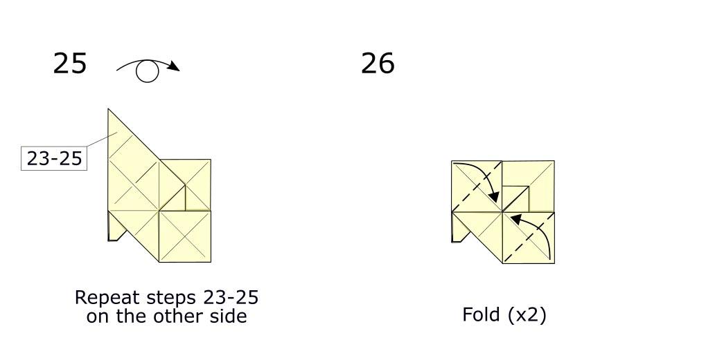Origami Horse (diagram s13)