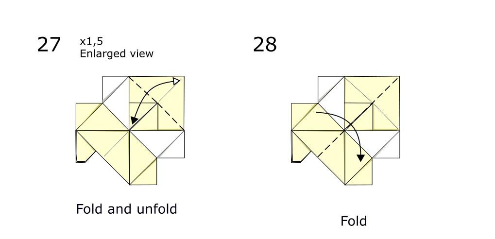Origami Horse (diagram s14)