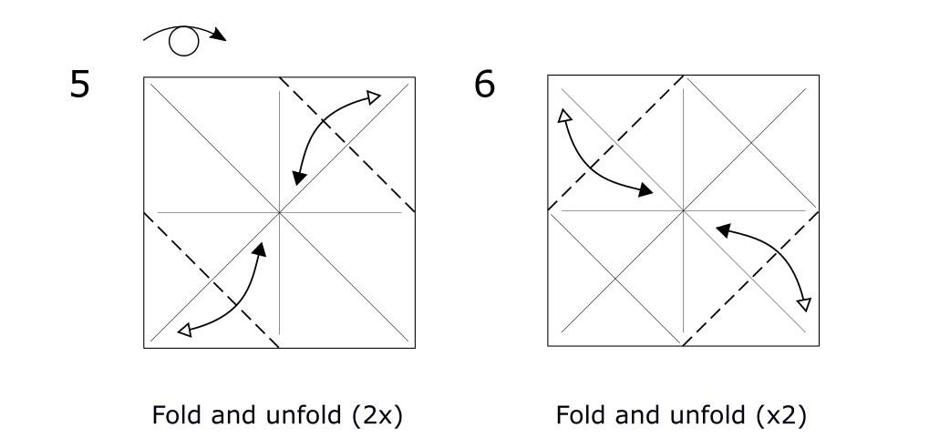 Origami Horse (diagram s3)