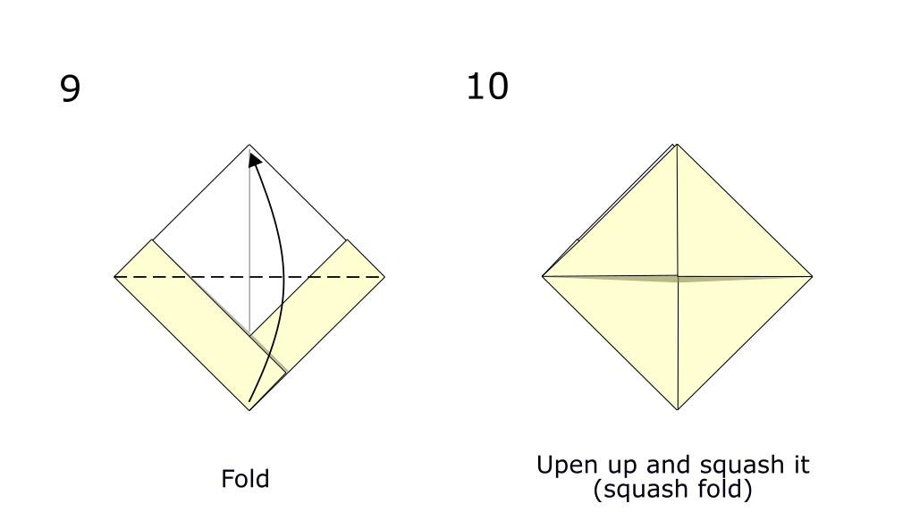 Simple origami boat (diagram S5)