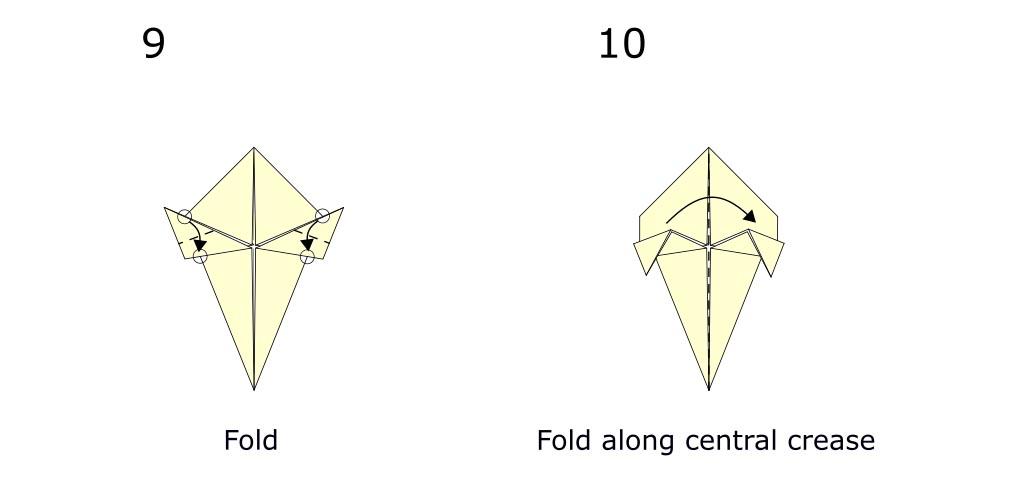 Origami turkey (diagram s5)