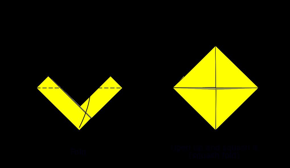 Simple origami boat (diagram S6)