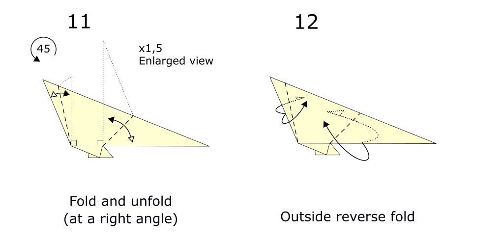 Origami turkey (diagram s6)