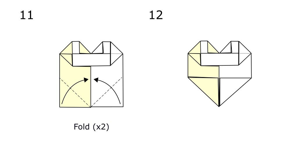 Two colour hart (diagram s7)