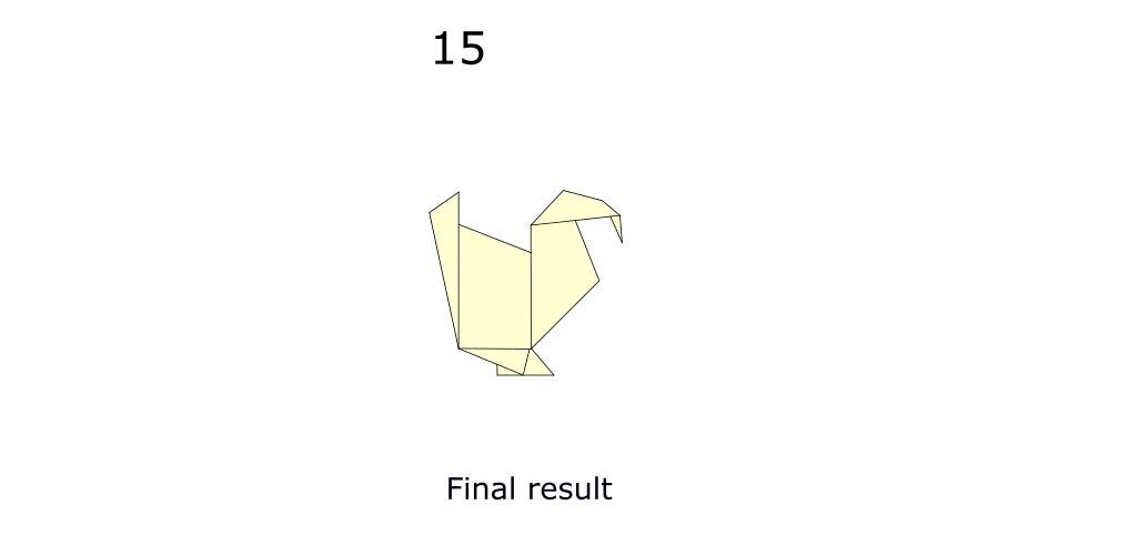 Origami turkey (diagram s8)