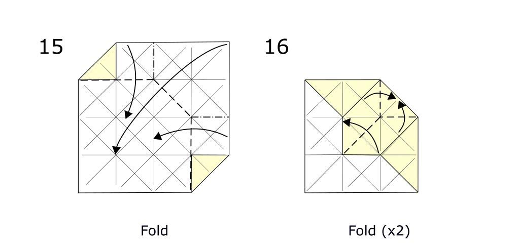 Origami Horse (diagram s8)