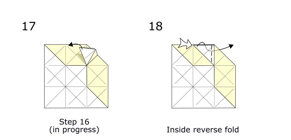 Origami Horse (diagram s9)